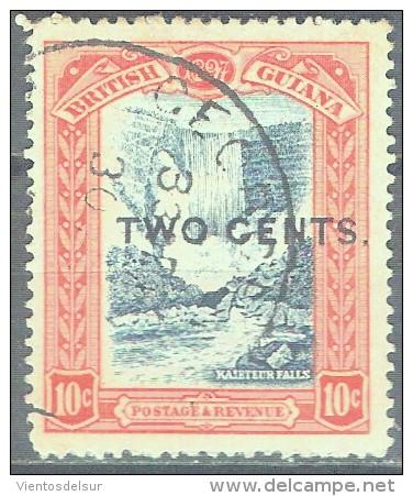 BRITISH GUYANA - QV - YVERT # 94 - VF USED - British Guiana (...-1966)