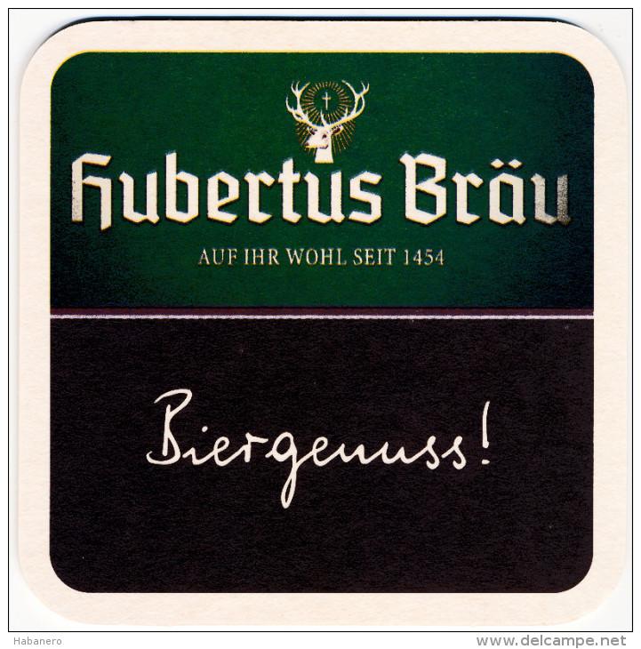 AUSTRIA - HUBERTUS BRAU BEER MAT - NEW UNUSED - Sous-bocks