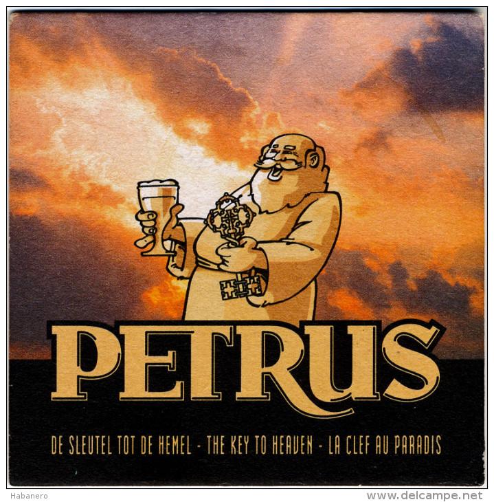 BELGIUM - PETRUS BEER MAT - NEW UNUSED - Sous-bocks