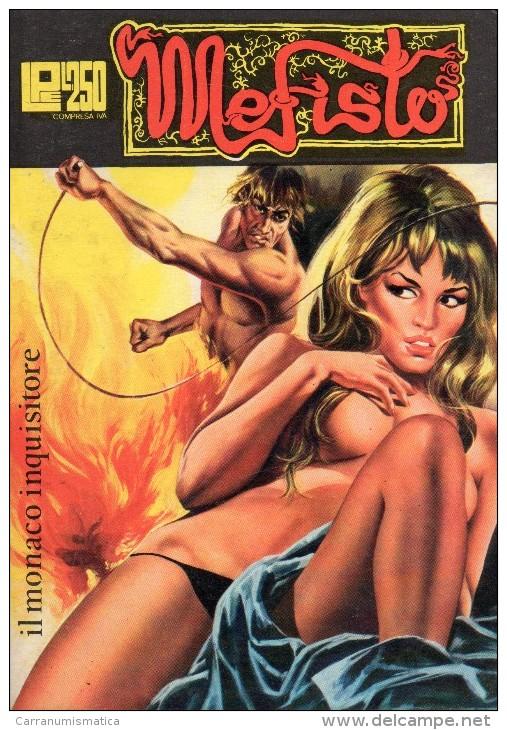 MEFISTO N°2  IL MONACO INQUISITORE - Libri, Riviste, Fumetti