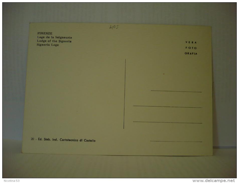 CT--N--00405--  FIRENZE- LOGGIA DELLA SIGNORIA - Sculture