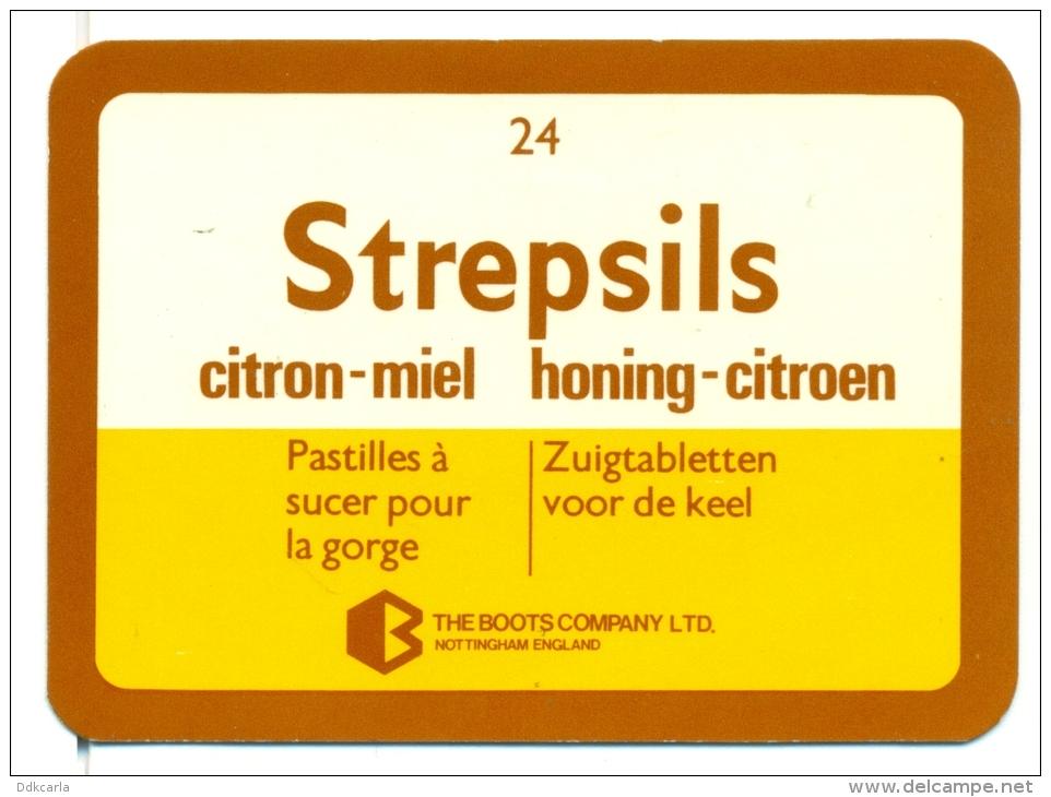Kleine Zakkalender 1979 - Strepsils - Zuigtabletten Voor De Keel - Calendriers