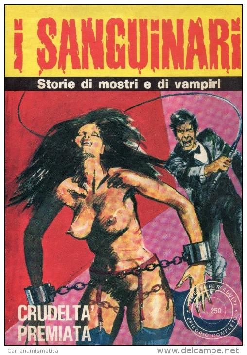 I SANGUINARI N°8  STORIE DI MOSTRI E VAMPIRI - Libri, Riviste, Fumetti