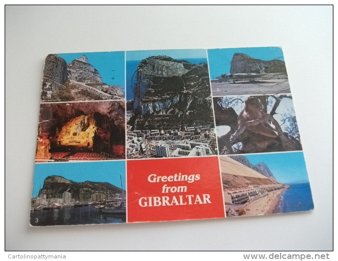 STORIA POSTALE FRANCOBOLLO COMMEMORATIVO Gibraltar Several Views - Gibilterra