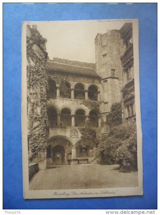 ALLEMAGNE - HEIDELBERG Die Arkaden Im Sohlosshof - Monuments