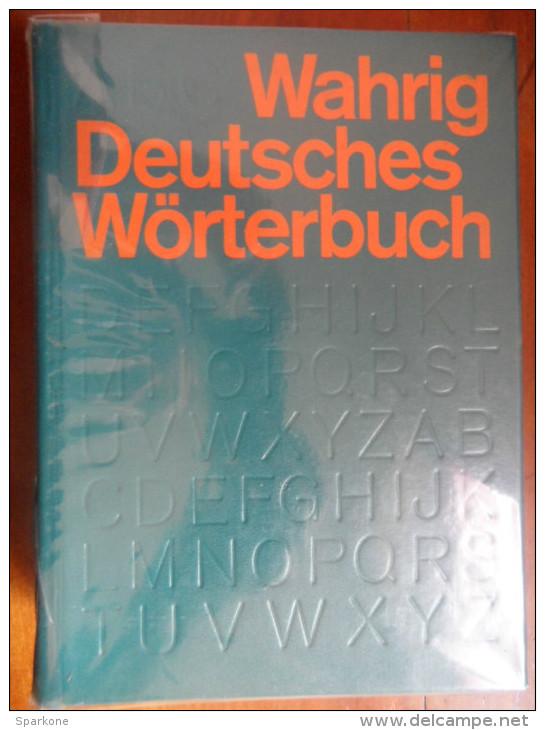 Deutsches Wörterbuch (Gerhard Wahrig) De 1971 - Dictionnaires