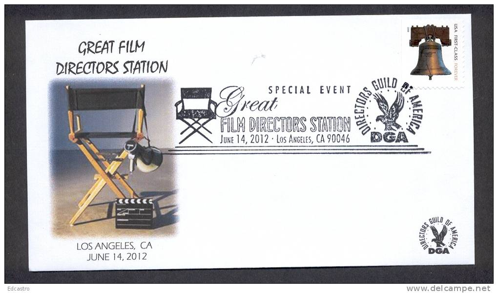 UNITED STATES OF AMERICA 2012. CINEMA FILM MOVIES. GREAT FILM DIRECTORS STATION - Cinéma
