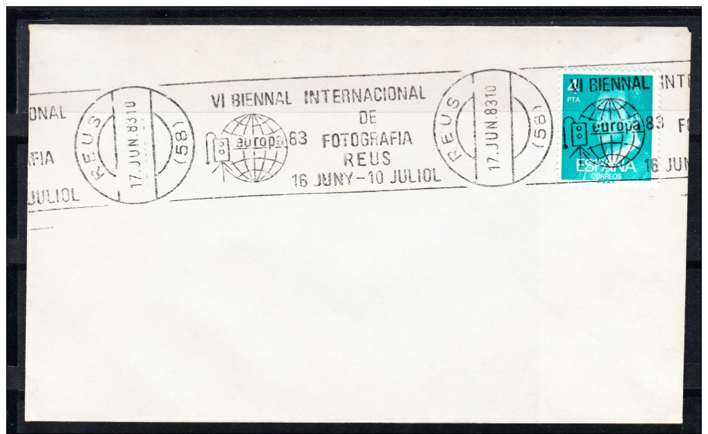 REUS 1983. VI BIENAL INTERNACIONAL DE FOTOGRAFIA   RODILLO PUBLICITARIO. CN 2532 - Fotografía