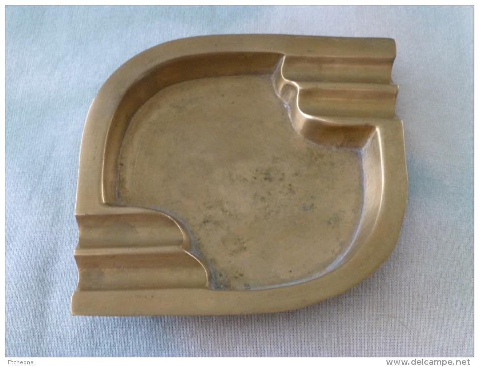 = Cendrier Métal Bronze, Made In India, Voir Description - Métal