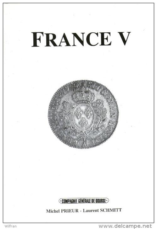 Catalogue Prieur & Schmitt: France V - Français