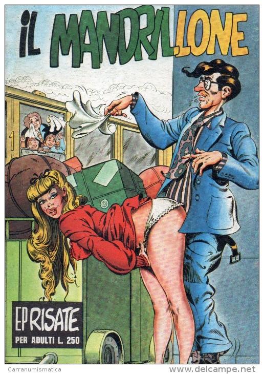EP RISATE N°7  IL MANDRILLONE - Libri, Riviste, Fumetti