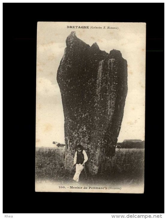 29 - PENMARCH - Menhir - Penmarch