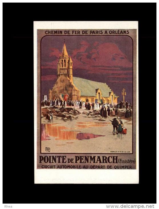 29 - PENMARCH - Affiche Chemins De Fer - Réseau D'Orléans - Penmarch