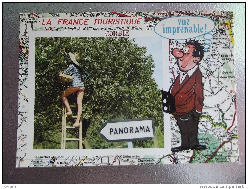 Corbie La France Touristique 3 Cartes Recto Verso - Corbie