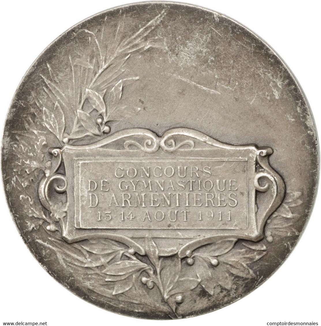 Ville D'Armentières, Médaille, Concours De Gymnastique - France