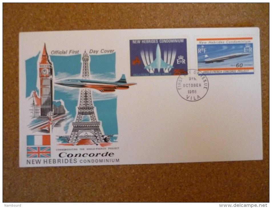 Concorde 2 Enveloppes 9/10/1968 - FDC