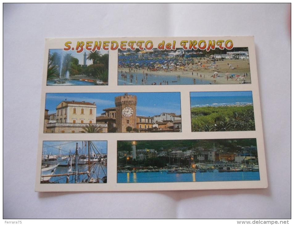 CARTOLINA S.BENEDETTO DEL TRONTO  VIAGGIATA - Ascoli Piceno