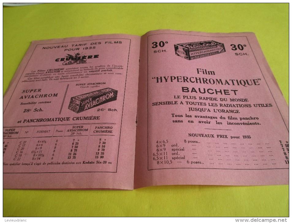 Catalogue /Photo-Plait/Paris-Opéra/ 1935           CAT68 - Appareils Photo