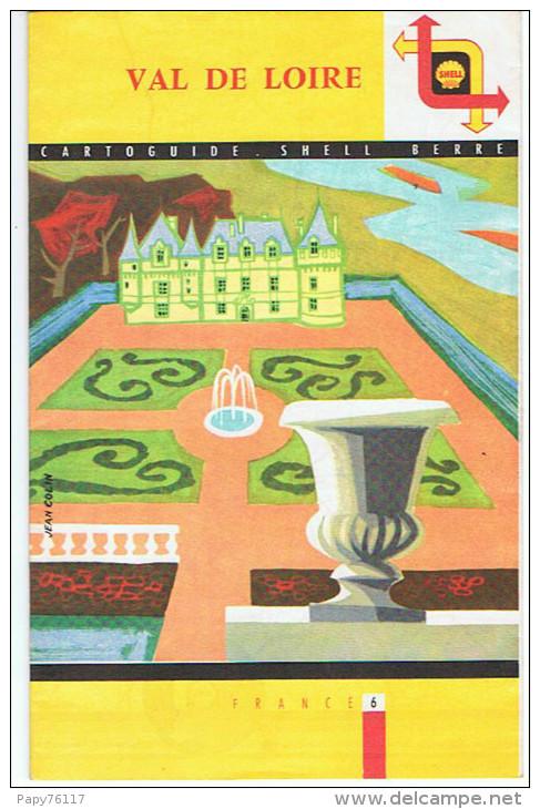 CARTOGUIDE SHELL BERRE 1958 - Cartes Routières