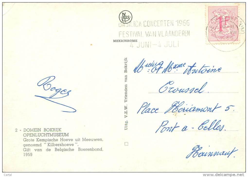 CPM - Domein BOKRIJK - Openluchtmuseum - Genk