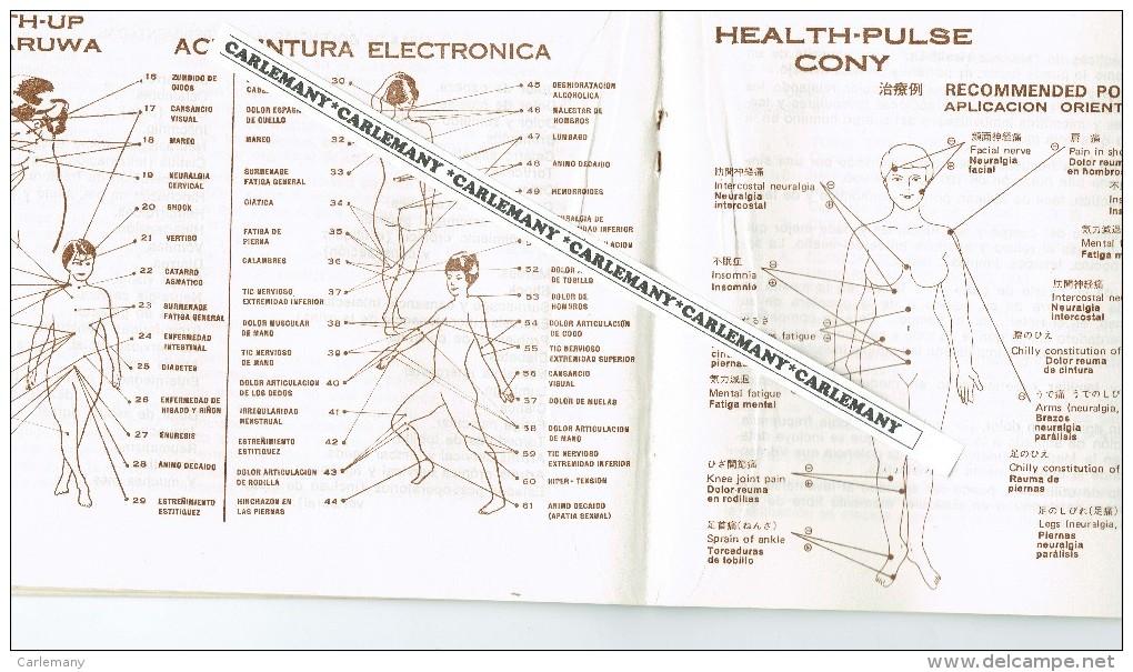 ACUNPUNTURA ELECTRONICA  1980  31 PAG. DR. MARUWA REP.CHINA - Santé Et Beauté