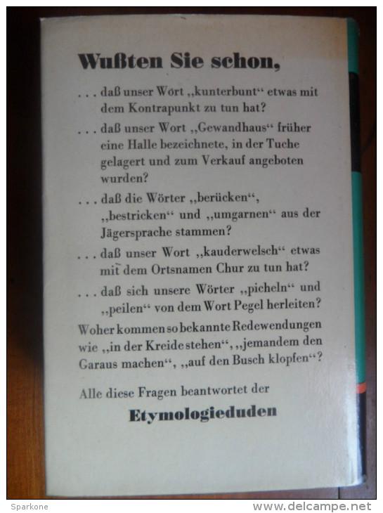 Duden / Der Grsse 7 / Etymologie De 1963 - Dictionnaires