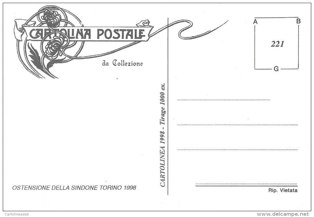 [DC0221] CARTOLINEA - MOLTO RARA - OSTENSIONE DELLA SINDONE - TORINO 1998 - Altri
