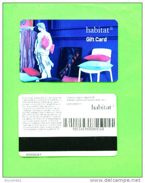 UK - Magnetic Gift Card/Habitat - Other Collections
