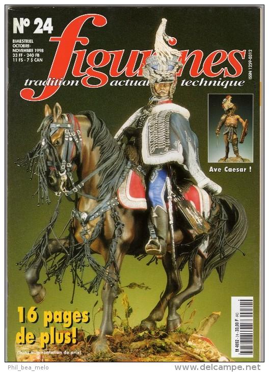 MAQUETTE - Magazine FIGURINES N° 24 Octobre-novembre 1998 - Etat Excellent - France