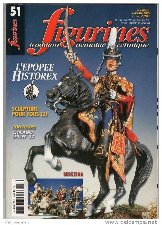 MAQUETTE - Magazine FIGURINES N° 51 Avril-mai 2003 - Etat Excellent - France