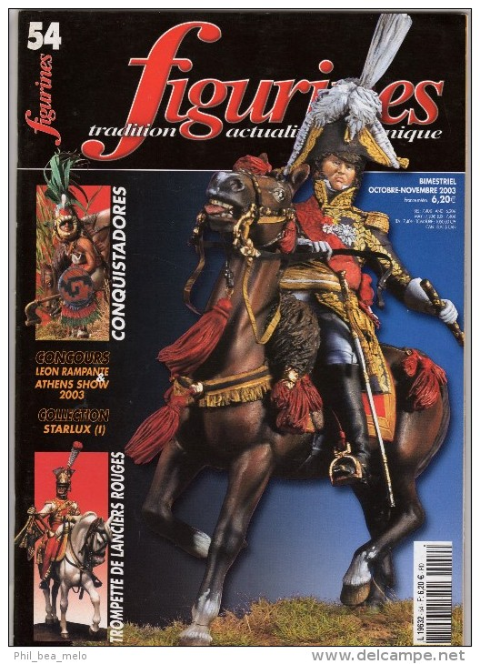 MAQUETTE - Magazine FIGURINES N° 54 Octobre-novembre 2003 - Etat Excellent - France