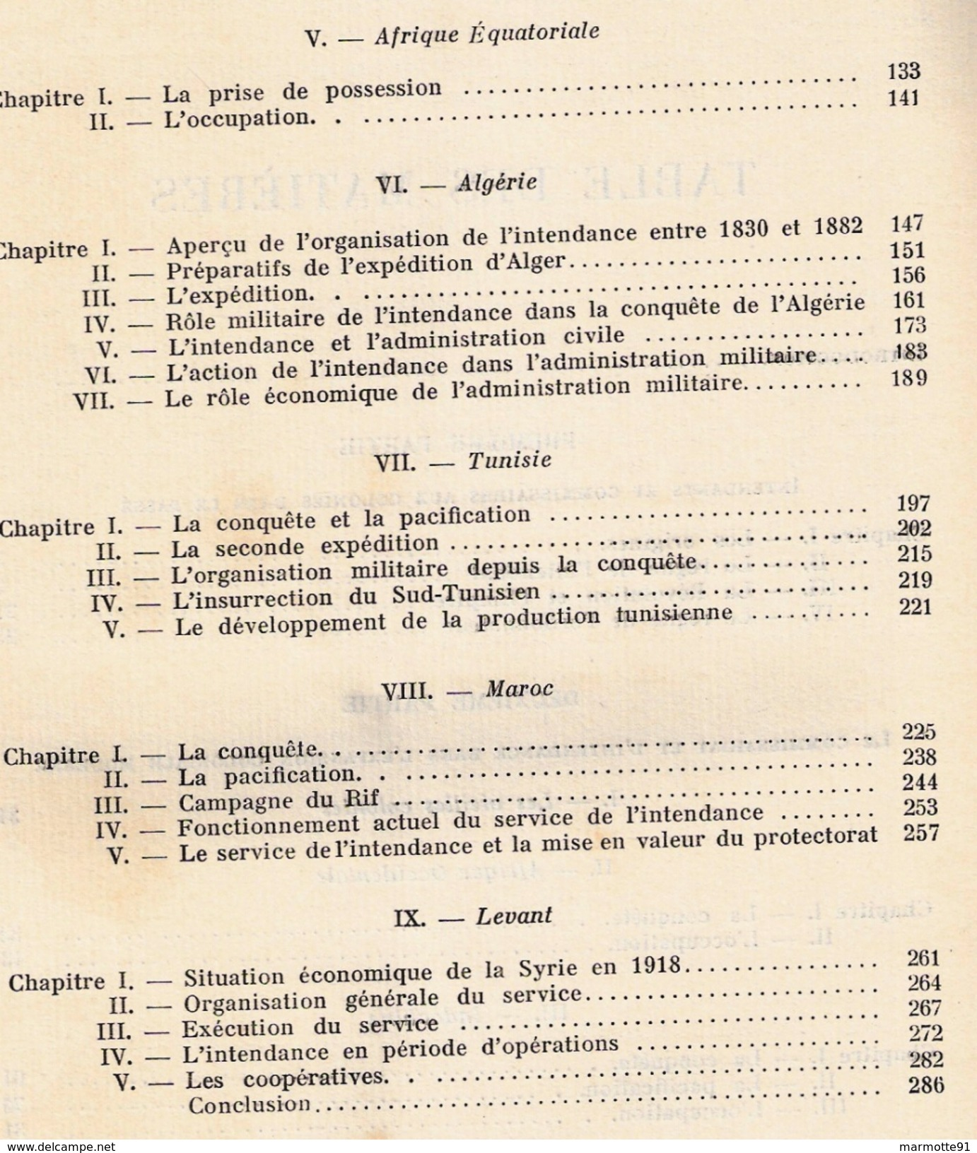 ARMEES FRANCAISES OUTRE MER EXPOSITION PARIS 1931 SERVICE INTENDANCE COLONIES ALGERIE AFRIQUE TUNISIE INDOCHINE LEVANT - Livres