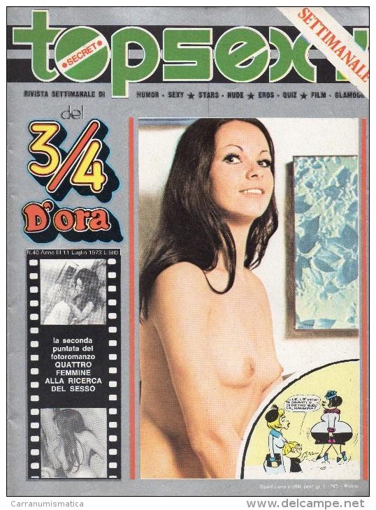 TOPSEXY RIVISTA SETTIMANALE  UMOR SEXY N°40 - Libri, Riviste, Fumetti