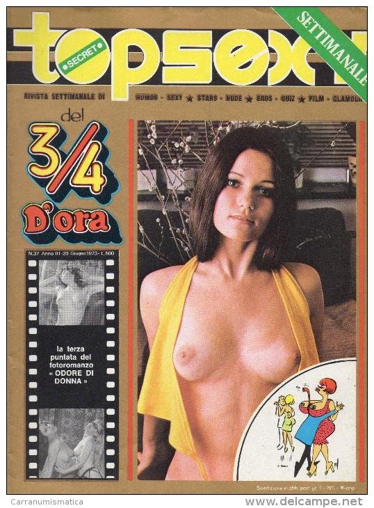 TOPSEXY RIVISTA SETTIMANALE  UMOR SEXY N°37 - Libri, Riviste, Fumetti