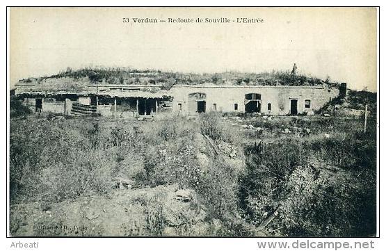 55 VERDUN ++ Redoute De Souville - L'Entrée ++ - Verdun