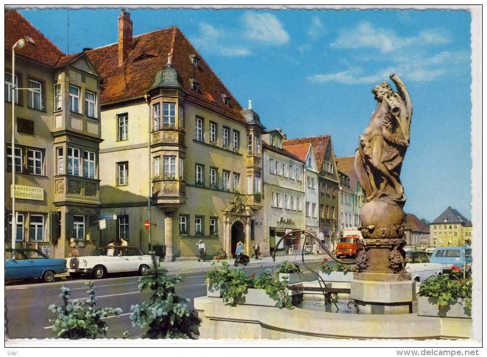 BAYREUTH - Marktplatz Mit Altem Rathaus - Bayreuth