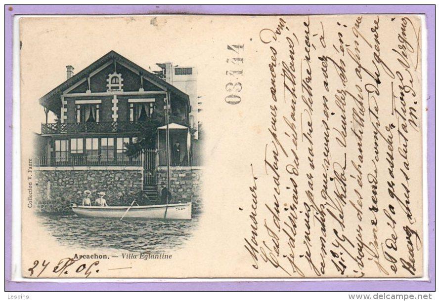 33 - ARCACHON -- Villa Eglantine - Arcachon