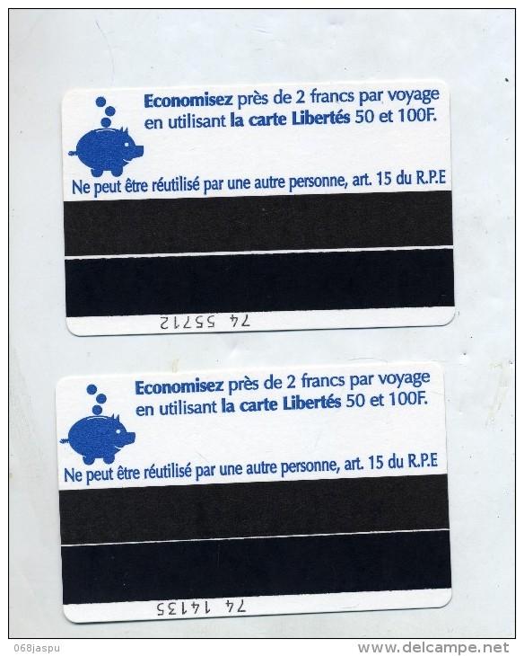 Billet  Transport Bus  RTM Economisez - Métro