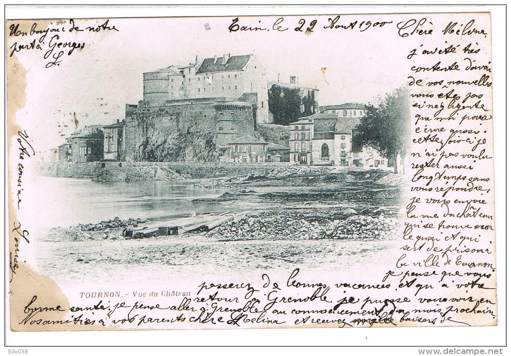 Tournon Vue Du Château - Francia