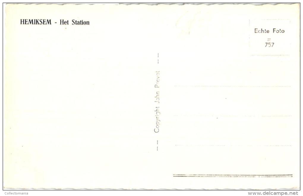 ANTW  6 PC Hemiksem  St BernardsestwegSt Elooi Hoefsmid Post Kasteel Ravensteyn '08 Zicht Schelde '11 Geboorte 4ling - Hemiksem