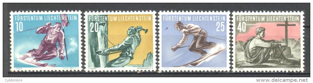 Liechtenstein: Yvert Entre  N°296/99**; MNH; Cote 65.00€; Football; PETIT PRIX; Voir Le Scan! - Liechtenstein