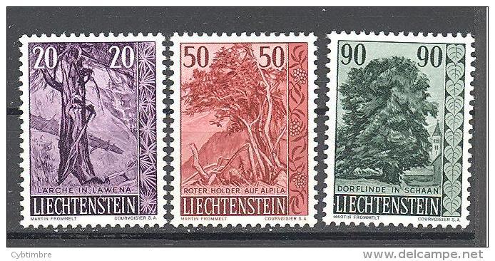 Liechtenstein: Yvert Entre  N°339/41*; MLH; Cote 22.00€;  PETIT PRIX; Voir Le Scan! - Liechtenstein