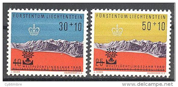 Liechtenstein: Yvert Entre  N°353/4**; MNH; Cote 4.00€;  PETIT PRIX; Voir Le Scan! - Liechtenstein