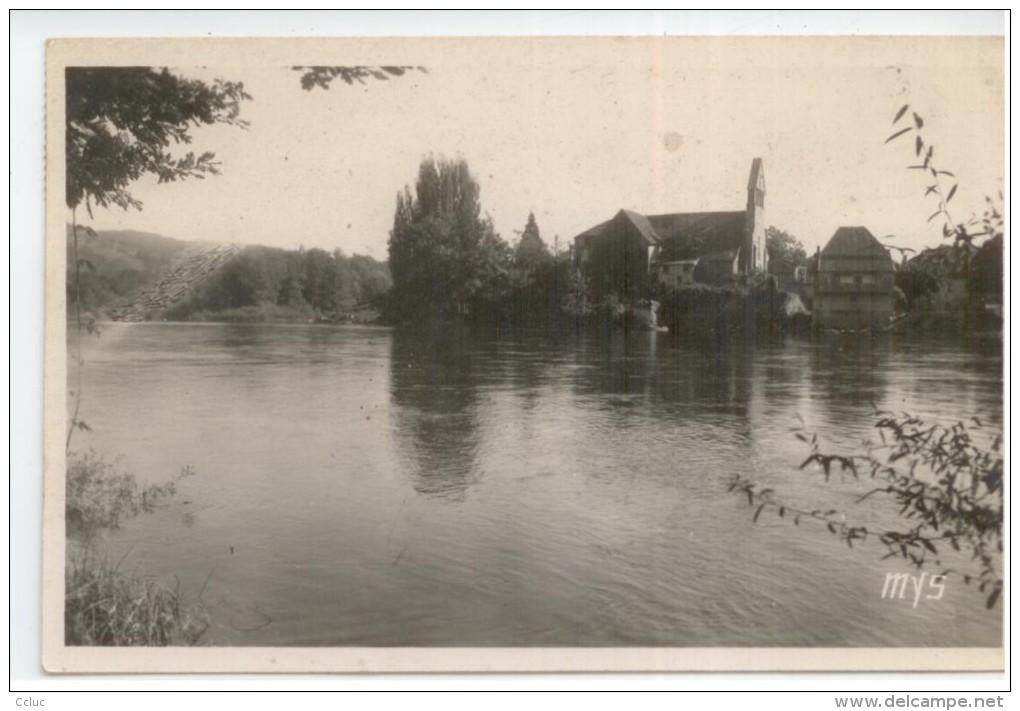 19 - BEAULIEU Sur Dordogne - La Dordogne Et L'église Des Pénitents - Sin Clasificación