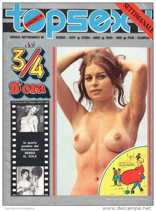 TOPSEXY RIVISTA SETTIMANALE  UMOR SEXY N°54 - Libri, Riviste, Fumetti