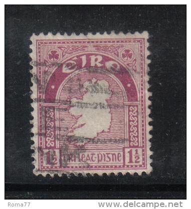 W 1890 - IRLANDA , Il  1 1/2 Penny  Lilla - 1922 Governo Provvisorio