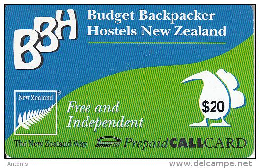 NEW ZEALAND - BBH, SmarTel Prepaid Card $20, Used - Neuseeland