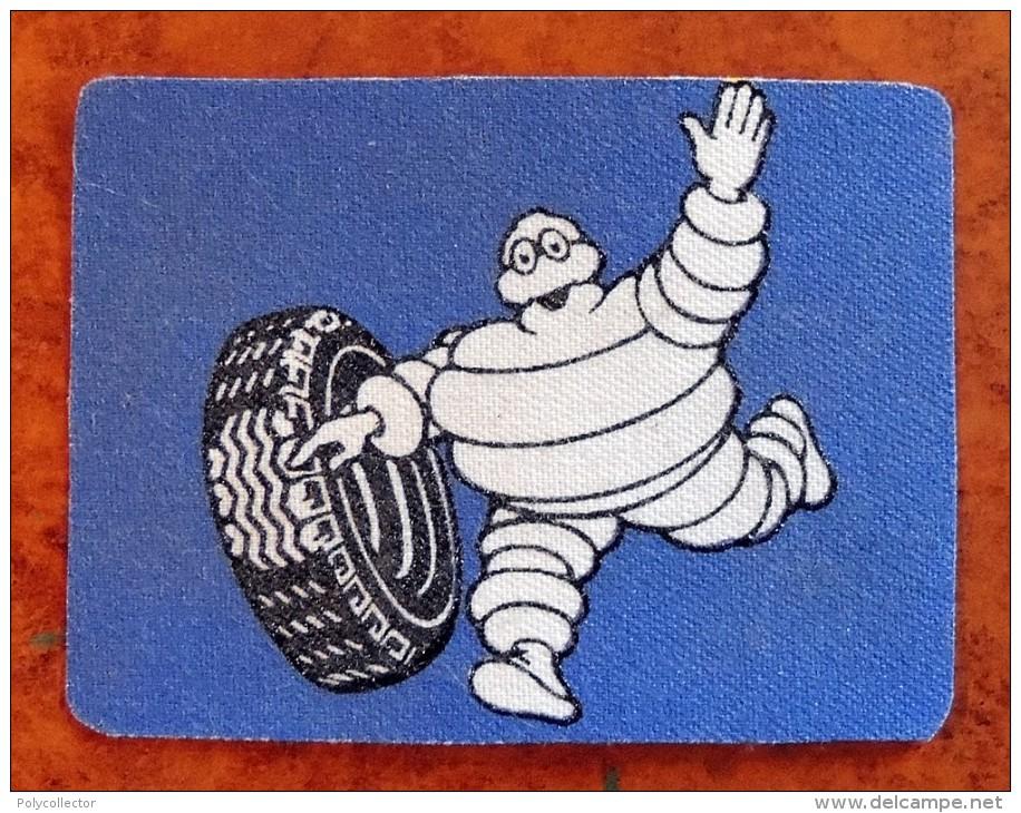 Patch Écusson Tissu - Pneus Michelin - Bibendum Modèle Ancien - Années 50-60 - Ecussons Tissu