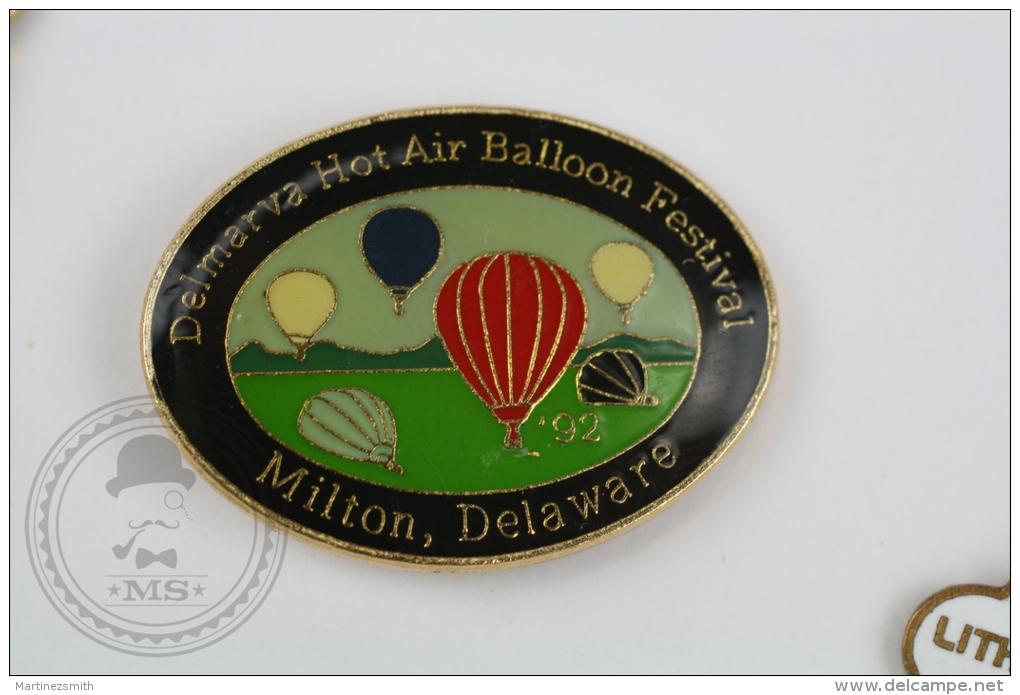 Delmarva Hot Air Balloon Festival - Milton, Delware - Pin Badge #PLS - Pin
