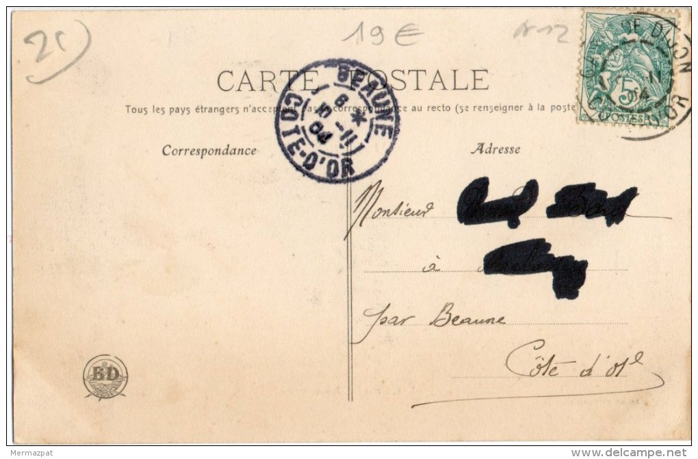 ENVIRONS DE DIJON (Côte D´Or 21) - Grandes Manoeuvres De 1904 Commandant Neresoff (Bulgarie) Capitaine Adelsward (Suède) - Dijon
